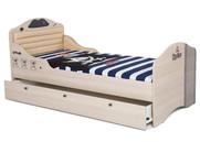 Кровать Pirat №2 с высоким изножьем