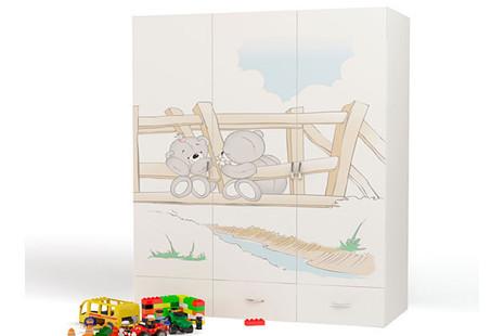 Шкаф 3-х дверный Bears