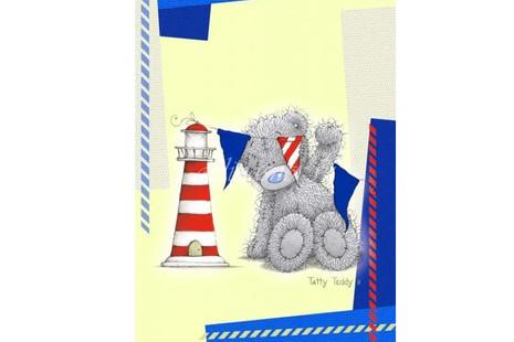 Плед флисовый Teddy моряк 150*200