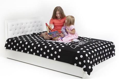 Кровать классика Фея Swarovski 120 с подъемным механизмом