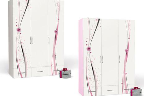 Шкаф 3-х дверный Princess 3 без зеркала