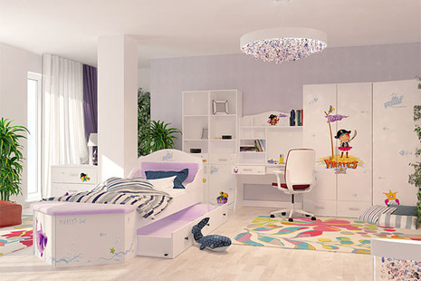 Детская комната Pirates (Пиратка)