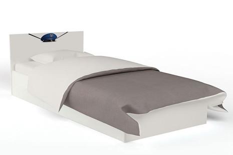 Кровать классика Police 120 с подъемным механизмом